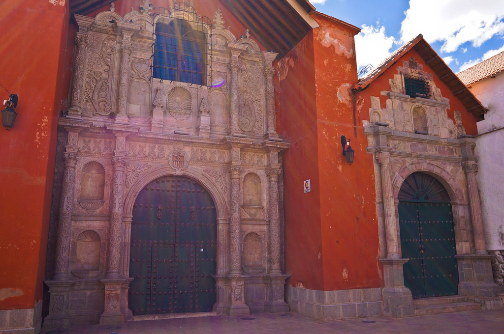 Church in Potosi, Bolivia