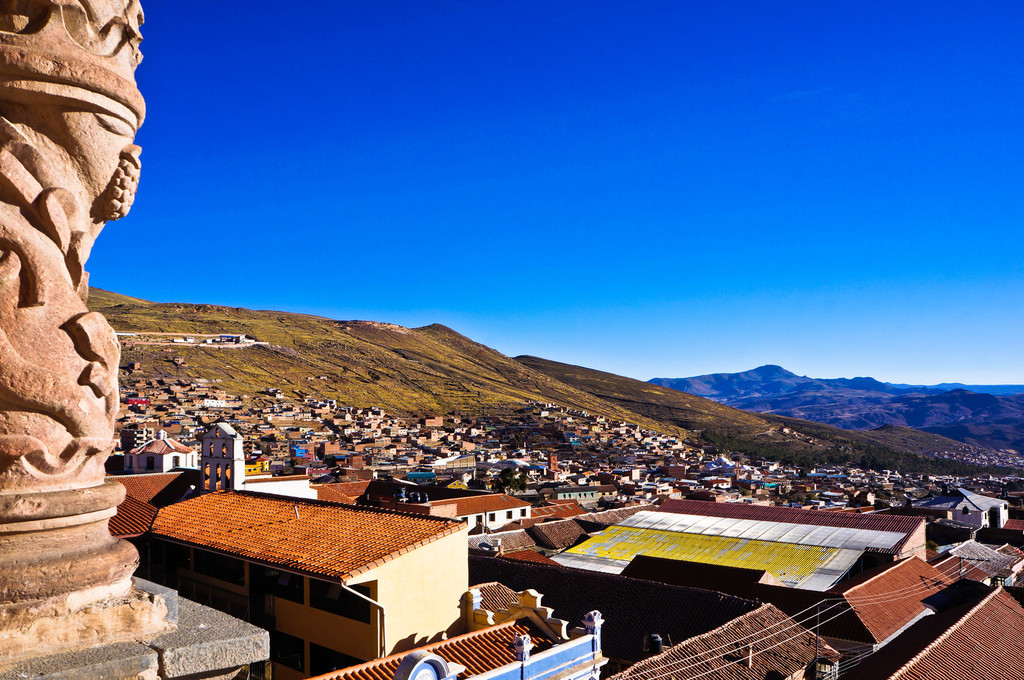 View over Potosi, Bolivia