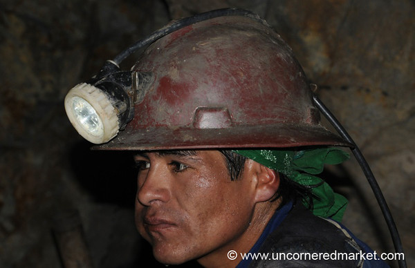 Taking a Break - Potosi, Bolivia