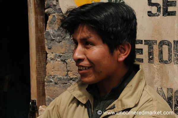 Young Worker - Potosi, Bolivia