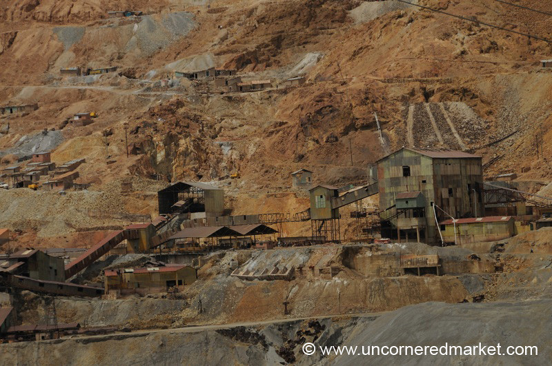 Mines at Cerro Rico Mountain - Potosi, Bolivia