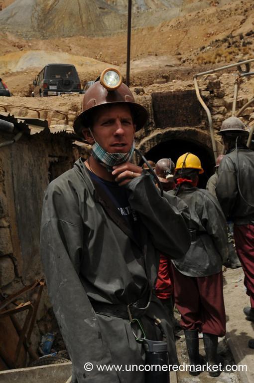 Going In the Mine - Potosi, Bolivia