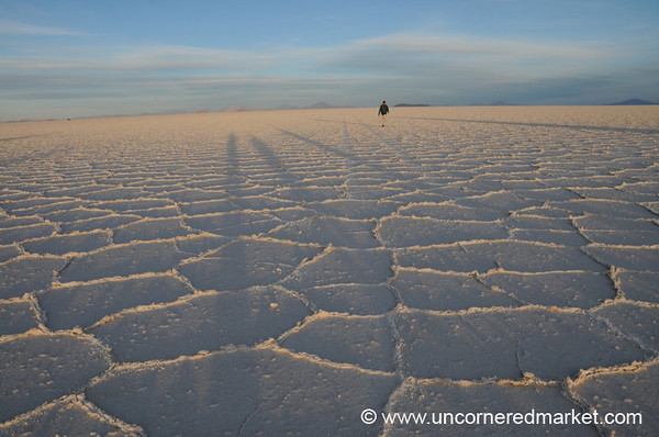 Tiny in the Desert - Salar de Uyuni, Bolivia