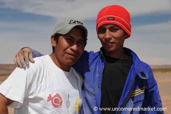 Our Drivers - Salar Tour, Bolivia