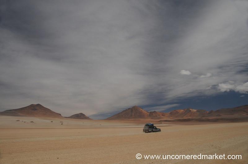 Mindblowing Desert Sky - Salar Tour, Bolivia