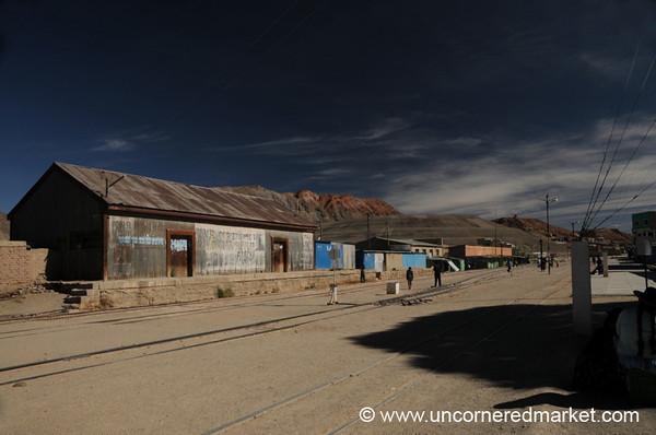 Atocha Mining Landscape - Salar Tour, Bolivia