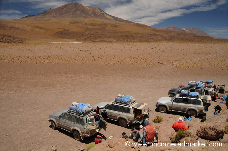 Desert Lunchscape - Salar Tour, Bolivia