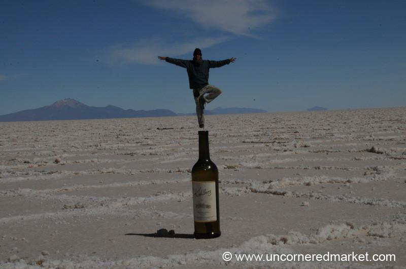 Zen Tree - Salar de Uyuni, Bolivia