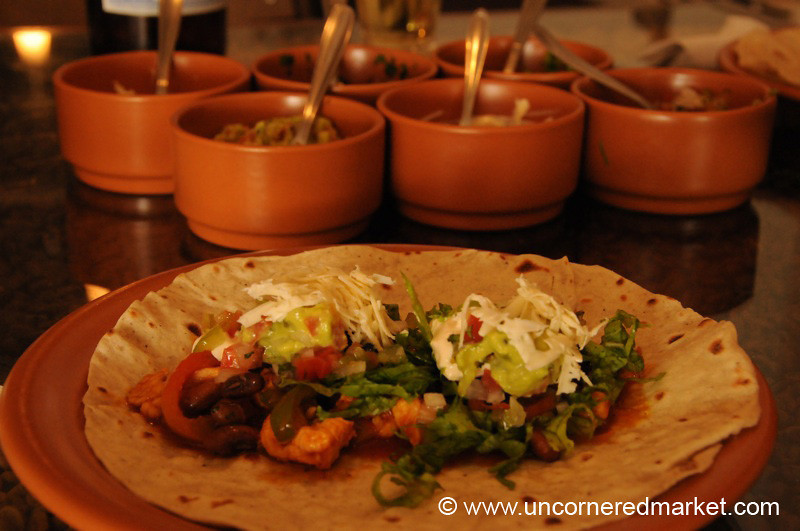 Chicken Fajitas: Our Favorite Meal in Tarija, Bolivia