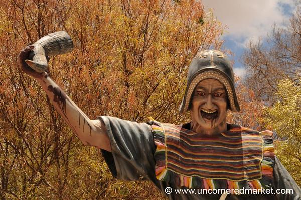 Victory With the Conquistador's Heart - Tarabuco, Bolivia