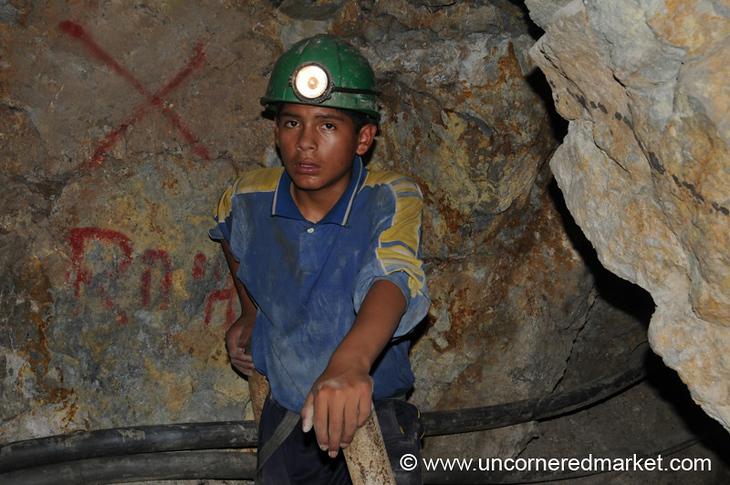 Young Miner - Potosi, Bolivia