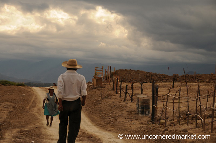 Crossing Paths - Tarija, Bolivia