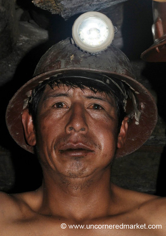 Portrait of a Miner - Potosi, Bolivia