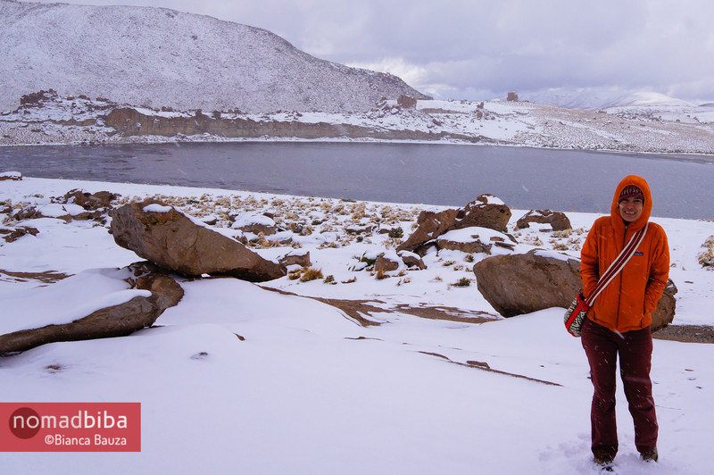 Salar de Uyuni: Me at Laguna Negra, Bolivia