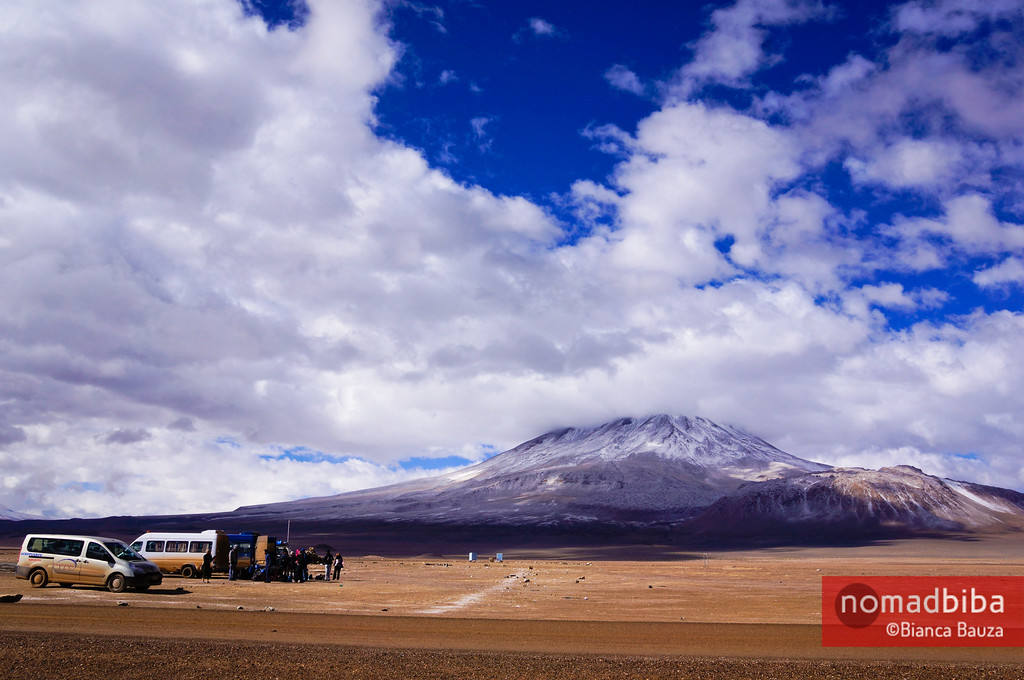 Border crossing in Ollagüe, Bolivia