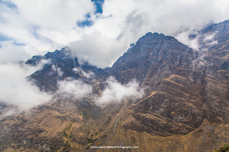 The North Yungas Road, The Andes, La Paz, Bolivia.
