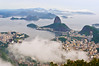 View of Rio and Sugarloaf from Christ the Redeemer, Rio de Janeiro, Brazil