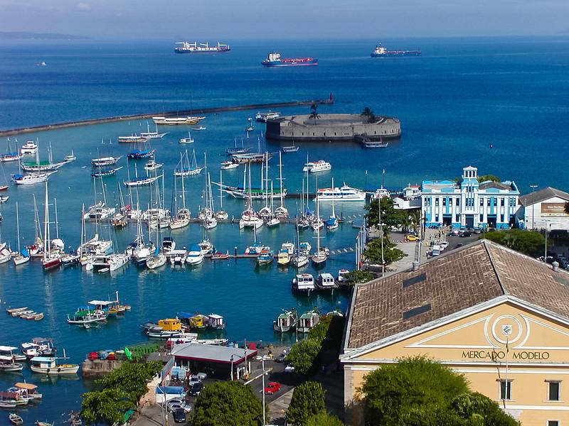 Harbor Overlook, Salvador, Brazil