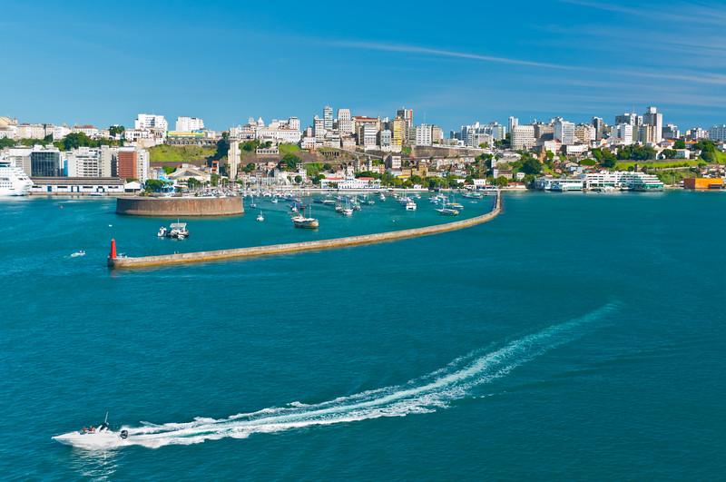 Harbor Entrance, Salvador, Bahia, Brazil