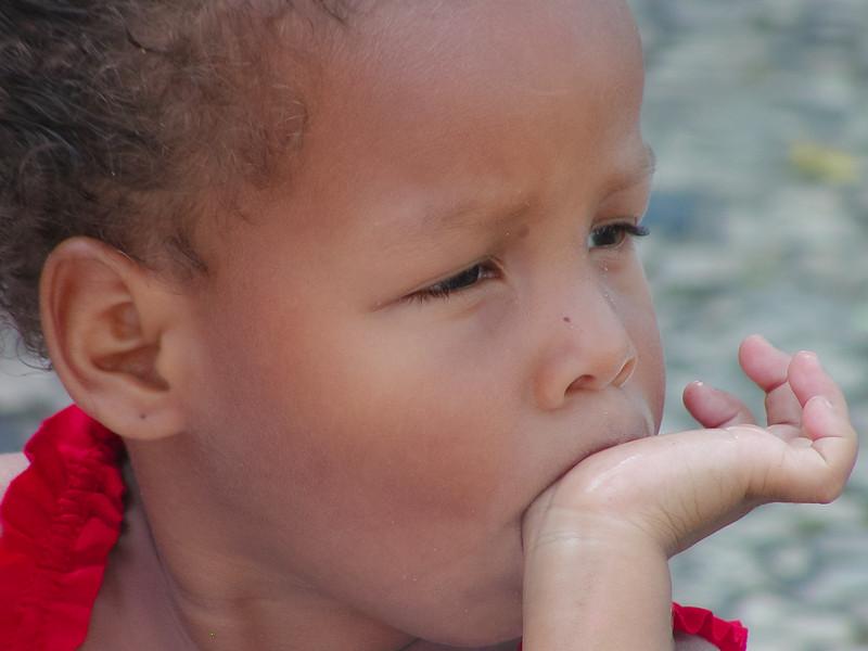 Adorable Little Girl, Salvador, Bahia, Brazil