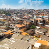 view over the favela