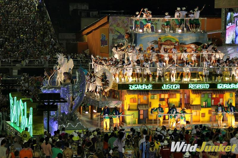 The favela float