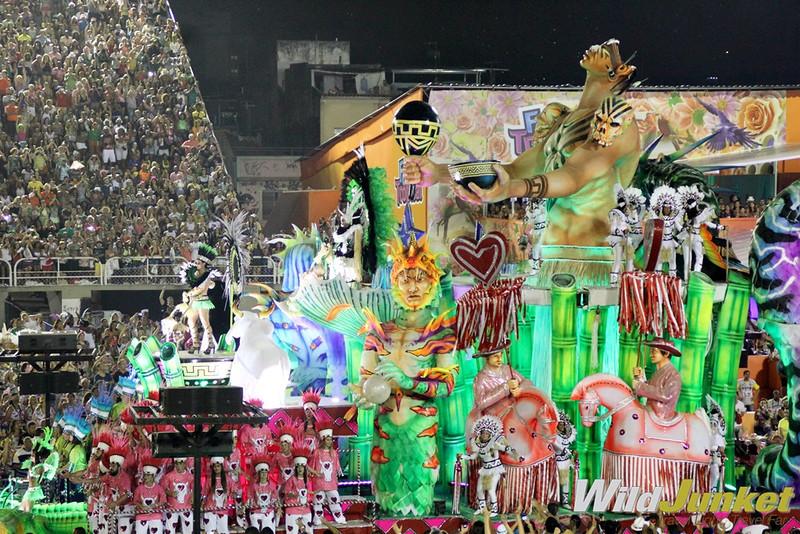 Samba Parade in Rio de Janeiro: The World's Biggest Carnival