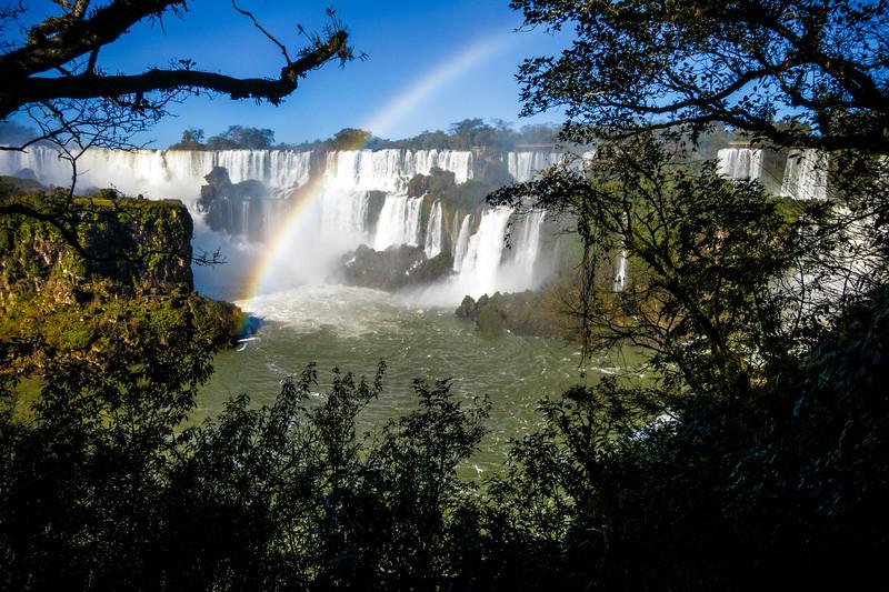 Iguazu Falls captured at the Argentinian side.