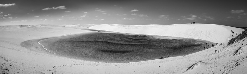 The fascinating and so stunning Lencois Maranhenses National Park.
