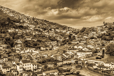 Yet another amazing view over Ouro Preto.