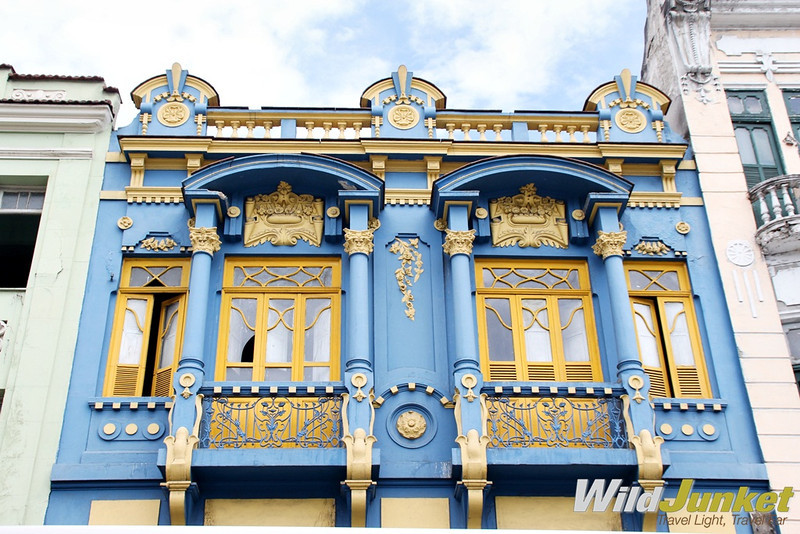 Colonial architecture in Lapa