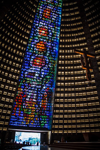 The impressive Rio de Janeiro Cathedral.