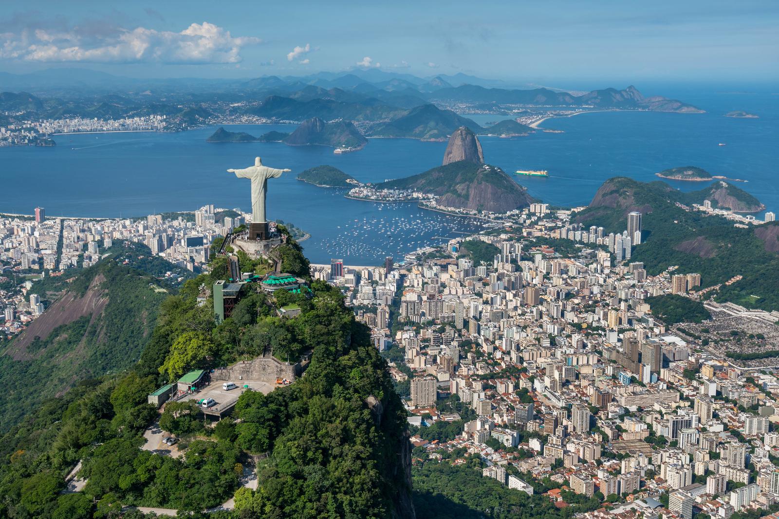 Rio de Janeiro, Brazil from Above
