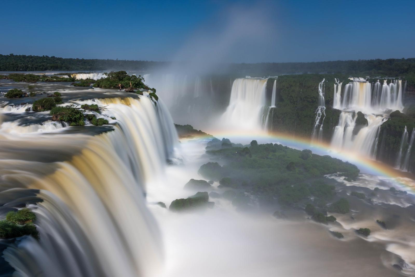 Iguassu Falls from above