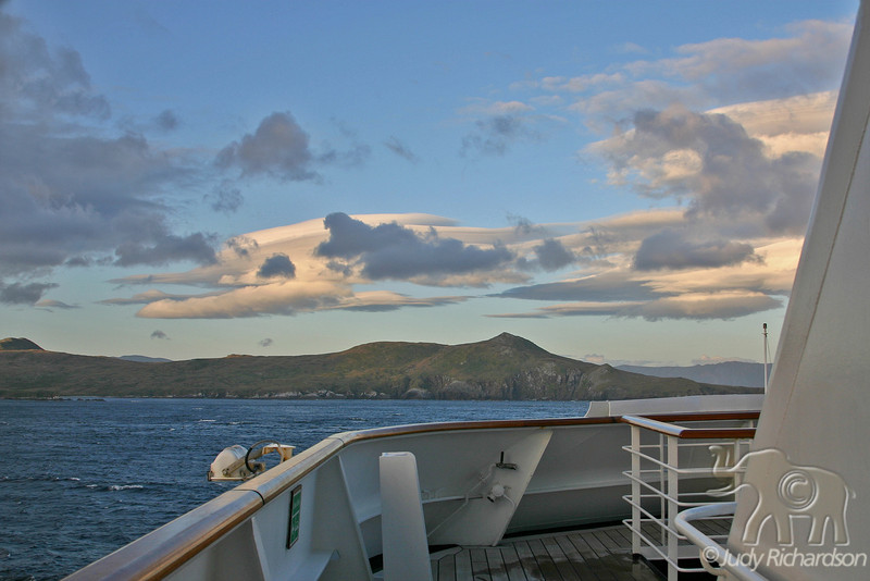 Calm around Cape Horn