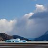 large iceberg in Lago Grey