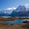 afternoon view of Cuernos del Paine