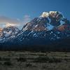 Cerro Paine Grande at sunset