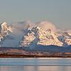 mountains in Porto Natales