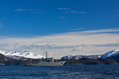 Chilean Armada ship PSG Isaza