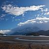 alluvial plain of Lago Grey