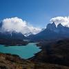 Cuernos del Paine & Paine Grande from Condor trail
