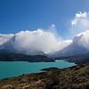 Paine Grande & Cuernos del Paine from Condor trail