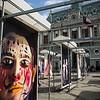 Art at City Hall - Valparaiso, Chile