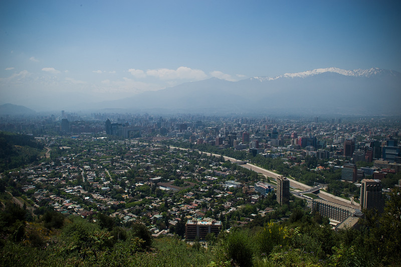 Andes Mountains, Santiago