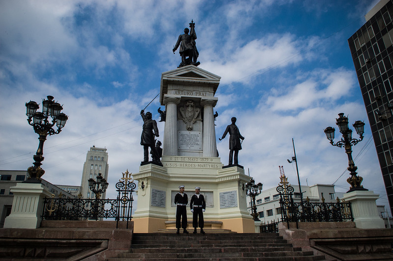 Heroes Monument - Valparaiso, Chile