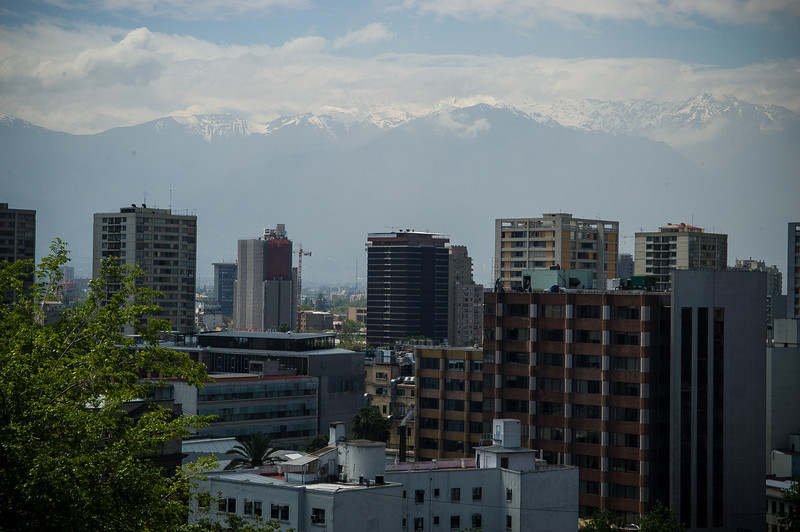 Andes Mountains, Santiago
