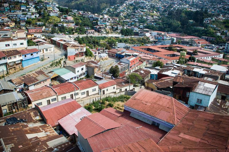 City Slums - Valparaiso