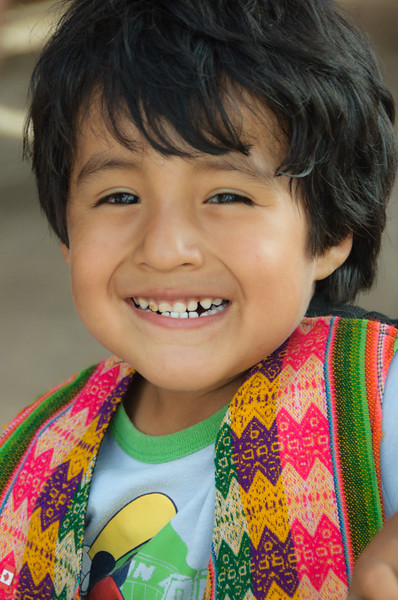 Little Boy in Traditional Dress,  Chile