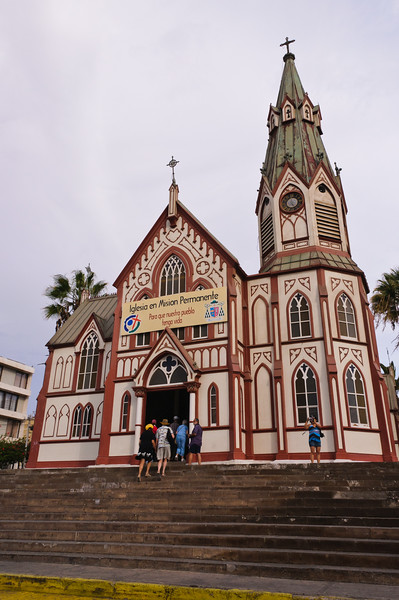 Church in Arica, Chile